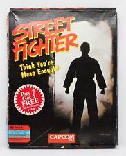 STREET FIGHTER - PC - CAJA GRANDE DE CARTON - 1 - DISKETTES 5 1/4 Y 3 1/2