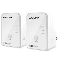 Wavlink AV500 WIFI WLAN Powerline Adapter,Network adapter Up to 500Mbps