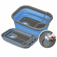 NEW Companion Popup Dish Tray and Tub with drainer - compact & lightweight