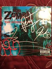 """ROB ZOMBIE """"The Sinister Urge"""" CD Signed!!!!"""