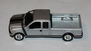 2004 Ford F-250 Super Cab Pickup - Silver - Johnny Lightning 1:64 - Loose Model