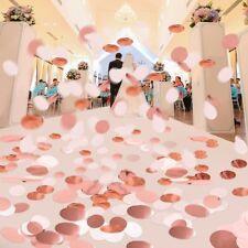 6000pcs Round Confetti Biodegradable Kids Party Wedding Throwing Decor