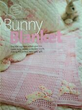 Crochet Pattern for Snuggly Bunny Baby Blanket