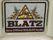 Vintage Blatz Lighted Rectangular Bar Sign
