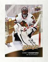 2017-18 Upper Deck MVP Base #40 Corey Crawford - Chicago Blackhawks