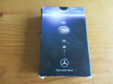 VINTAGE MERCEDES BENZ ADVERTISING PLAYING CARDS - FULL PACK INCLUDING 3 JOKERS .