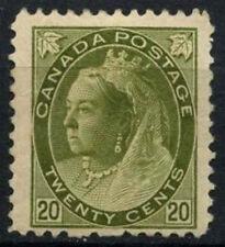 Canada 1898-1902 SG#165, 20c Olive Green QV MH Cat £325 #D45195