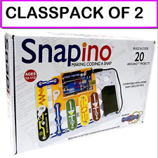 (2-PACK) SNAPINO-Snap Circuits Open Source Coding  Arduino Compatible Technology