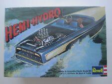 1/25 scale Revell Hemi-Hydro Boat + Trailer plastic model kit