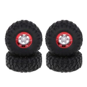 1//16 RC Crawler Truck Off Roader Rubber Tires RC Antiwear Wheel Tire Fits for C-34 1//16 4WD Military Truck 4Pcs RC Tire