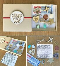 Personalised Birthday 'A Little Box of Happiness Just For You' Friend Gift Box