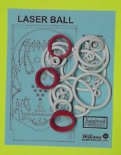 1979 Williams Laser Ball pinball rubber ring kit
