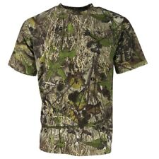 HUNTING SHORT SLEEVE T-SHIRT MENS S-3XL ENGLISH HEDGEROW CAMO CLOTHING HUNTSBURY