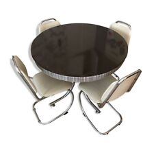 (Vintage ; RARE) Ensemble table et chaises années 50-60 (TBE)