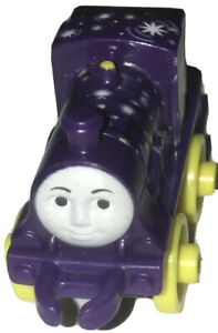 FISHER PRICE THOMAS & FRIENDS MINIS NIGHT TIME EMILY PLASTIC TOY TRAIN USED J45D