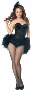 Mystery House Swan Costume, Black, X-Large, Black, Size X-Large a9Jd