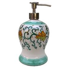 dosatore sapone liquido con erogatore cromo ts