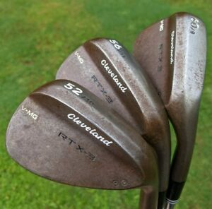 CLEVELAND RTX 3 WEDGE SET - 52, 56 & 60 DEGREE - 1.5 INCHES LONGER THAN STANDARD