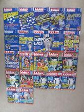 Kicker Sportmagazin Sonderheft Champions League