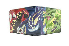 Pokemon Groudon, Kyogre, and Rayquaza Bifold Wallet NEW