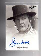 2016 James Bond Archives  Spectre Edition Roger Moore autographed card #3