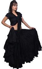 Wevez Tribal Gypsy Belly Dance Cotton 25 Yard Skirt By Wevez