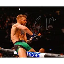 "CONOR McGREGOR Autographed UFC 16"" x 20"" 'Making It Rain' Photograph FANATICS"