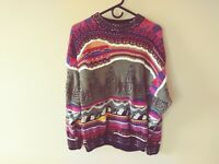 Vintage KALAROO Men's Sweater (Medium) Made in AUSTRALIA
