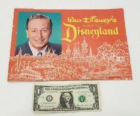 Walt Disneys Guide to Disneyland - Vintage 1963 Memorabilia Collectible Booklet