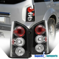 For 2005-2012 Nissan Pathfinder Black Replacement Tail Lights Rear Brake Lamps