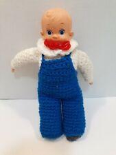 Vintage Crochet Kewpie Doll