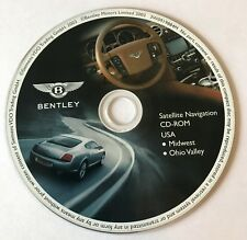 Pre-Owned Bentley OEM Satellite Navigation CD-ROM USA For Midwest Ohio Valley!