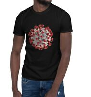 Short-Sleeve nCoV Unisex Classic Corona T-Shirt COVID Graphic Tee for Men/ Women