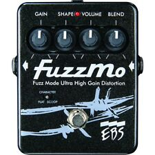 EBS FuzzMo Ultra High Gain Fuzz Bass Guitar Effects Pedal True Bypass Stompbox