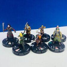 Heroclix miniature mixed 7 figure lot comic game neca Lord Rings Legolas Lurtz 1