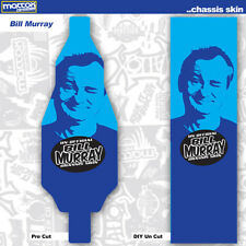 """ONE DIY UNCUT- 5""""x17"""" 1:10 18mil OUTDOOR/CLAY Chassis Skin Rc Car-Bill Murray"""