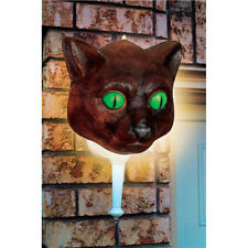 "LIVINGbasics® Halloween Cat Porch Light Cover Wall Decoration 12""x12"""
