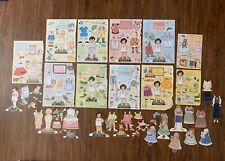 Mary Englebreit 1990s Lot Of 15 Paper Dolls Cut And Uncut Ann Estelle Georgia
