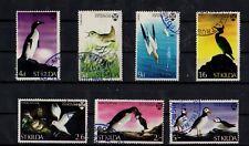 Local- St. Kilda - Sea Birds Set of 7 National Trust for Scotland 1968 PM -sr