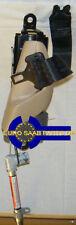 Saab 9-5 o/s/f Seatbelt Correa Negra Beige Claro 4842811