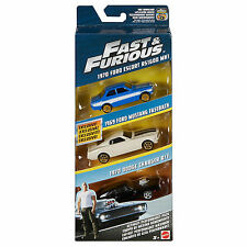 Fast and Furious Ultimate Perform Pack Triple car set 1:55 scale New Boxed FCG03
