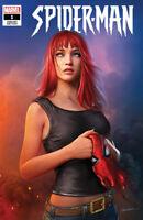 SPIDER-MAN #1 Shannon Maer Variant 1st App CADAVEROUS NM Marvel LTD 3000 RARE