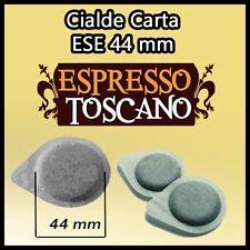 300 caffè ESPRESSO TOSCANO filtro carta ESE 44 per tutte le macchine a cialde