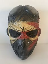 Air Soft Helmet Face Covering Pilot Design With Mesh Eyes - Come See !