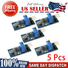 5Pcs Light Intensity Photosensitive Sensor Module Photo Resistor for Arduino