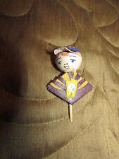 Vintage Japan Boy Scout Spun Cup Cake Topper Pick Unique and RARE