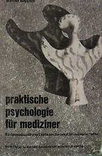 Praktische Psychologie für Mediziner von Werner Bappert
