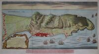 Gibraltar - du Bosc 1780 - Plan of the town and Fortifications ... - Original