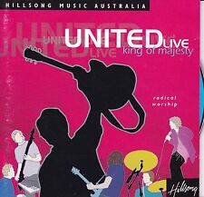 UNITED LIVE King Of Majesty CD - Christian - Hillsong