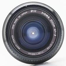 Sigma zoom mc af-β 1:4-5,6 60-200mm Minolta Sony 60-200